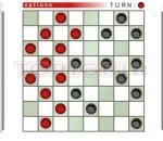 Дама нов вариант  Checkers online game