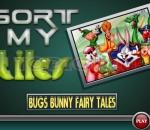 Пъзел с Бъгс Бъни Sort My Tiles Bugs Bunny Fairy Tales