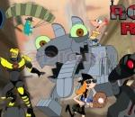 phineas and ferb attack of the robots robot riot
