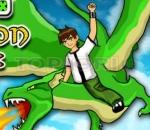 ben 10 and ben 10 dragon and the dragon