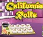 Калифорнийски ролца Saras Cooking Class: California Rolls