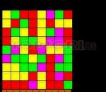 Remove identical squares.