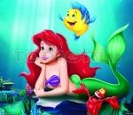 the little mermaid - puzzle