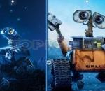 Уоли - Открии приликите  Wall E - Similarities