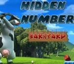 Фермата на Отис - Намери числата  Hidden Numbers - Barnyard